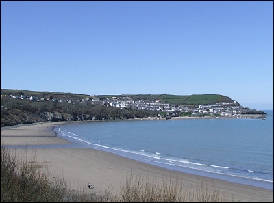 Treathgwyn Beach New Quay